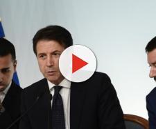 Governo Conte: Di Maio. Conte, Salvini.