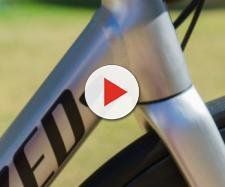 Un particolare della bicicletta di Peter Sagan con i tubeless