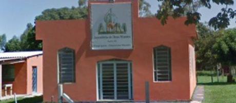 Fachada da igreja onde menina teria sido estuprada (Reprodução)