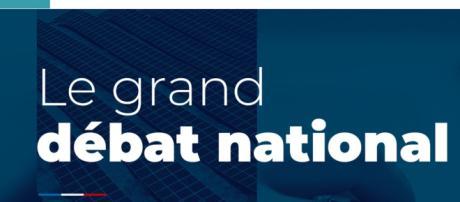 Le site Internet du grand débat national mis en ligne