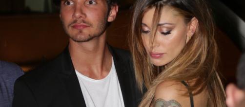 Belen Rodriguez e Stefano De Martino beccati insieme alla settimana della moda di Milano.