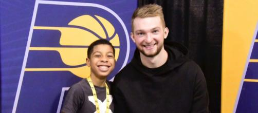 Domantas Sabonis has been superb for the Pacers off the bench. - [Flickr / Pacers Groups]