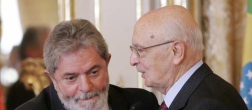 Giorgio Napolitano accusa Lula per il caso Cesare Battisti