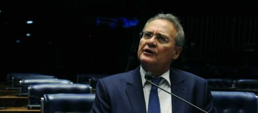 Senador Renan Calheiros (MDB-AL) criticou abertamente o coordenador da Lava Jato, Deltan Dallagnol (Foto: Edílson Rodrigues/Agência Senado)