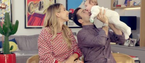 Spencer and Vogue are head over heels for new baby Theodore (Image credit: Spencer, Vogue and Baby Too/ 4oD)