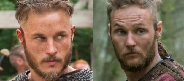Ragnar e Ubbe (Reprodução - History)