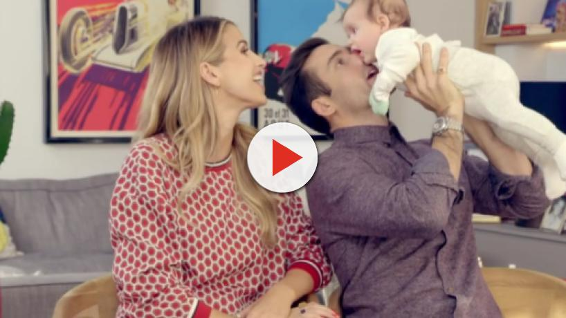 Spencer Matthews and Vogue Williams open up about the challenges of first time parenthood