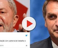Ex-presidente Lula usa suas redes sociais para se manifestar contra decreto de Jair Bolsonaro sobre armas de fogo - (Astrogildo Pereira)