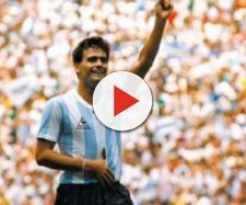 José Luis Brown durante i Mondiali messicani del 1986