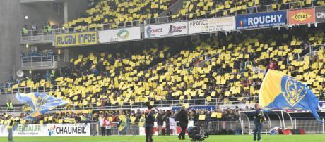 Champions Cup 2018 : Clermont - Racing, les supporters jaunards au rendez-vous
