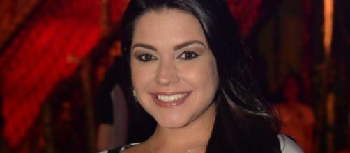 A atriz Thaís Fersoza, que foi traída por Joaquim Lopes (Reprodução)