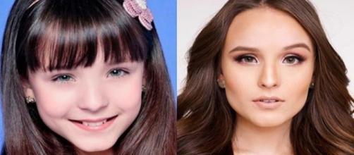 Antes (2009) e depois (2019) dos famosos.