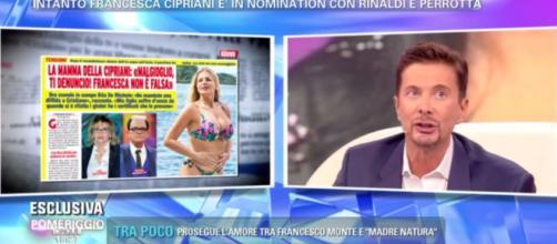 Francesca Cipriani picchiata da un ex