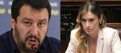 Gianluigi Paragone critica Matteo Salvini per la cena con Maria Elena Boschi