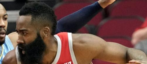 Houston's James Harden scored 57 points on Monday (Jan. 14). - [ESPN / YouTube screencap]
