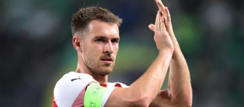 Juventus Ramsey a gennaio, trattativa in corso