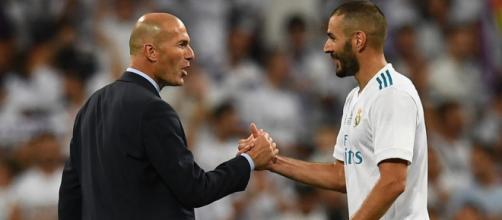 Mercato : la presse espagnole envoie Benzema et Zidane à la Juventus