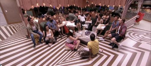 Público não ficou muito curioso para conhecer os confiados (Crédito: reprodução TV Globo).