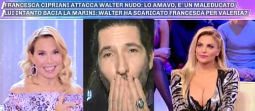 GF Vip, Francesca Cipriani contro Walter Nudo: 'Con me è stato un maleducato'