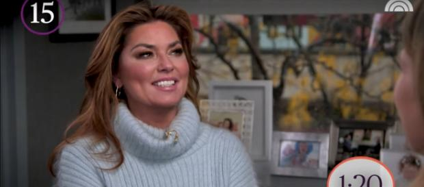 Shania Twain shares some powerful insights on Six-Minute Marathon with Savannah Guthrie. [Image source: TODAY-YouTube]