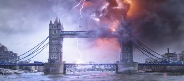 "The ""Spider-Man: Far From Home"" trailer dropped, people hoped Parker would save the UK from Brexit. [Image Sony Pictures Entertainment/YouTube]"