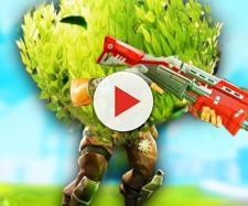 Fortnite Bush is going to get buffed. Image: LazarBeam / YouTube