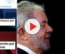(Reprodução do Twitter de Lula da Silva | Imagem de Jair Bolsonaro e Lula: Nezimar Borges)