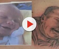 Tatuagem é coisa séria e deve ser pensada bem antes de ser feita. (Foto/Reprodução via Mega Curioso).