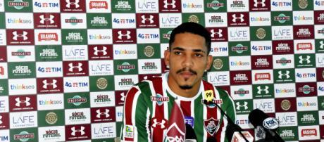 Gilberto está fora da estreia do Fluminense no Carioca (Foto: Gazeta Esportiva)