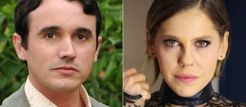 Caio e Bárbara Paz já se acidentaram no trânsito. (Foto Reprodução)