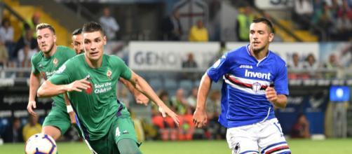 Fiorentina Sampdoria diretta streaming tv formazioni pronostico