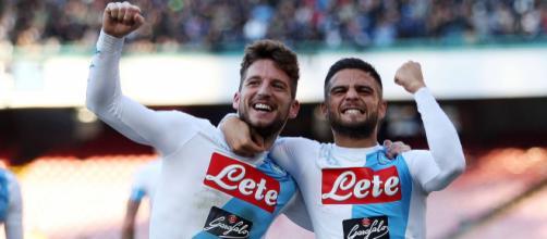 Insigne e Mertens sono i calciatori più stipendiati del calcio Napoli