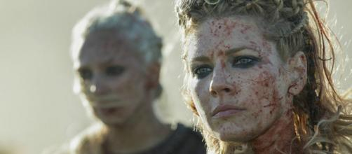 Lagertha (Katheryn Winnick) não foi vista por quase um mês em Vikings (Divulgação/History)