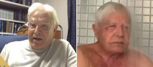 No Instagram, Cid Moreira postou vídeo falando sobre envelhecer. (Foto Reprodução / Instagram)