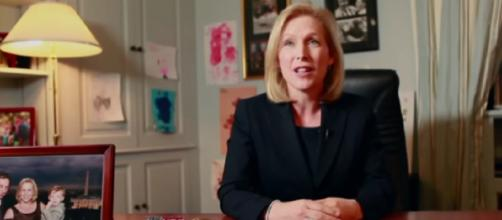 Senator Kirsten Gillibrand: In Her Words. [Image source/ The New York Times YouTube video]