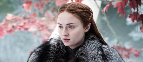Sophie Turner, más conocida como Sansa Stark, en una escena de 'Game of Thrones'