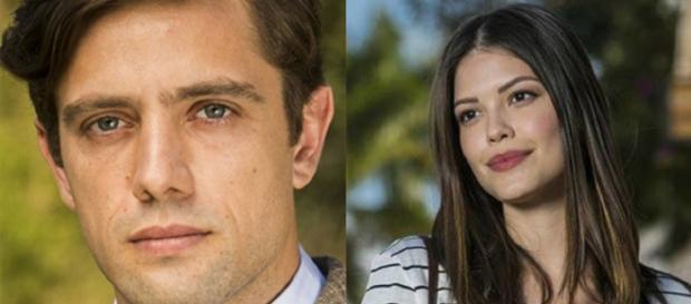 Cris e Danilo vão trocar juras de amor em Espelho da Vida (Foto: Globo)