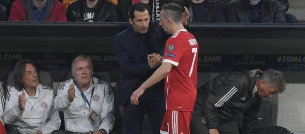 FC Bayern: Sportdirektor Hasan Salihamidzic hofft, dass Franck ... - rtl.de
