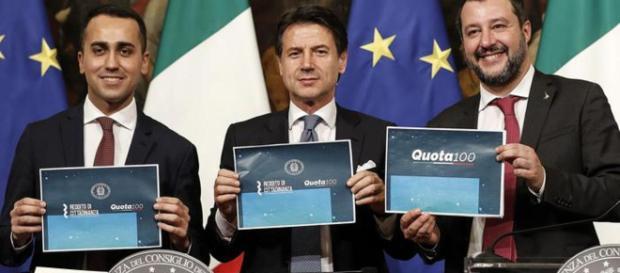 Pensioni, ok dal Cdm al decreto su Quota 100 e Opzione donna: le novità in arrivo: interventi di Salvini, Di Maio e Conte