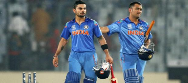 Virat Kohli scored yet another match-winning century before getting out at 131 runs. (Image via BCCI/Youtube screencap)