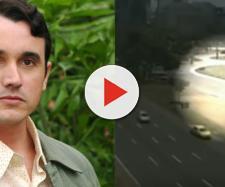 Caio Junqueira está internado e tem o estado delicado. (Reprodução TV Globo)