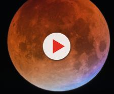 Fenômeno da Super Lua de Sangue ou Lua do Lobo