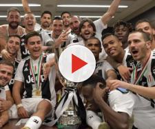 La Juventus festeggia negli spogliatoi la vittoria della Supercoppa (sito: Juventus.com)
