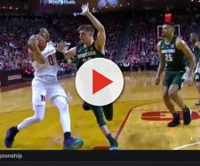 Nebraska basketball fans, players react to loss [Image via Big Ten Network/YouTube]