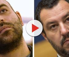 Salvini ad Afragola dopo bombe ai negozi, Saviano: 'Inutile passerella, magari in divisa'