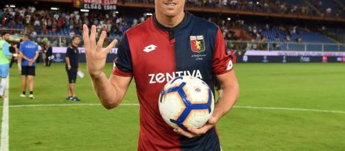 Agile e rapido, Piatek ha segnato 13 gol in campionato