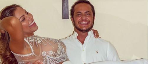 Casal já havia realizado uma cerimônia em Las Vegas. (Foto Reprodução / Instagram)