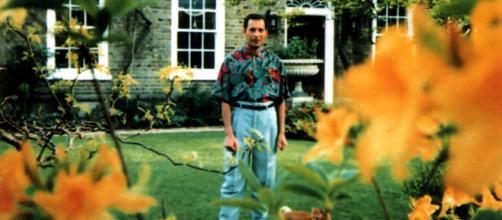 Freddie Mercury pochi mesi prima di morire