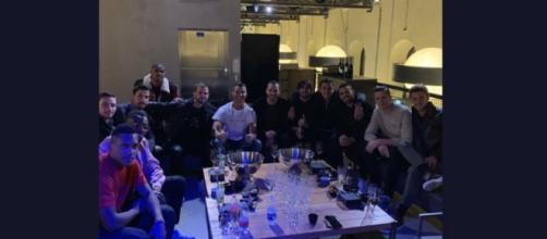 Juventus, ieri sera festa per celebrare la Supercoppa