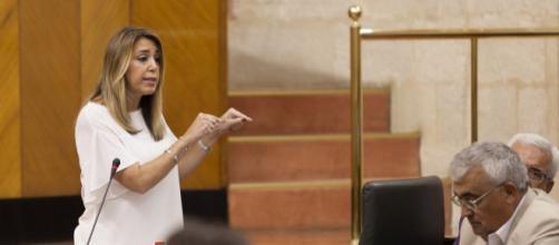 Susana Díaz forma parte de la oposición a Moreno Bonilla